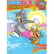 Tom si Jerry. Superculori. Sa coloram impreuna cu Tom si Jerry. Volumul 1