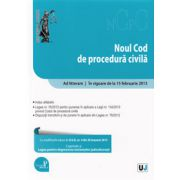 Noul Cod de procedura civila. In vigoare de la 15 februarie 2013