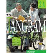 Tangram 2A. Kursbuch und Arbeitsbuch. Manual si caiet pentru limba germana clasa a XI-a (An de completare)