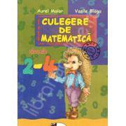 Culegere de matematica clasele II-IV (Aurel Maior, Vasile Blaga)