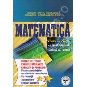 Matematica clasa a XI-a. Algebra superioara, analiza matematica (Sinteze de teorie exercitii si probleme)