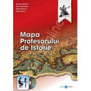 Mapa profesorului de istorie. Volulmul I (Contine DvD)