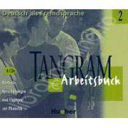 Tangram 2 Arbeitsbuch. Hortexte und Ubungen zur Phonetik (4CDs)