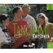 Tangram 2 Kursbuch. Hortexte und Ubungen zur Phonetik (3CDs)