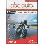 CD, Software curs de legislatie, ABC Auto v.3.0 - Categoriile AM, A1, A2, A - Actualizat 2014
