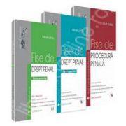 Pachet Drept Penal. Fise de drept penal - partea generala, partea speciala si Fise de procedura penala