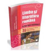 Evaluare nationala 2014. Limba si literatura romana 30 de variante de subiecte, dupa modelul elaboat de MEN - Caiet de lucru