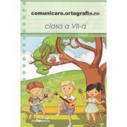 Comunicare. Ortografie. ro 2013-2014, clasa a VII-a