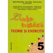Limba romana a 5-a. Teorie si exercitii