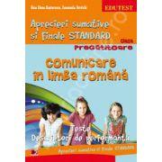 Comunicare in limba romana. Aprecieri sumative si Finale Standard clasa pregatitoare.