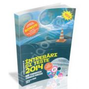 Intrebari si teste 2014, categoria B. Pentru obtinerea permisului de conducere (Cartea contine CD interactiv)