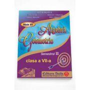 Auxiliar de Algebra si Geometrie pentru clasa a VII-a, semestrul II