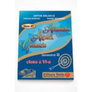 Auxiliar de Aritmetica, Algebra si Geometrie pentru clasa a VI-a, semestrul II