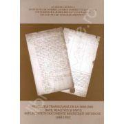 Revolutia transilvana de la 1848-1849. Date, realitati si fapte reflectate in documente bisericesti ortodoxe 1848-1850
