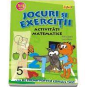 Activitati Matematice (3-5 ani). Jocuri si exercitii