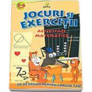 Activitati Matematice (5-6 ani). Jocuri si exercitii