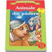 Animale din padure (Prima mea carte de colorat)