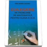 Culegere de probleme de matematica pentru clasa a XI-a (Zachiu)