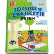 Desen (5-6 ani). Jocuri si exercitii