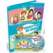 Detectivul de emotii. Activitati de invatare integrata, pentru Grupa Mijlocie si Grupa Mare (Contine CD cu soft educational)