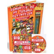EDU Comorile de pe taramul cuvintelor. Grupa mare si Clasa pregatitoare (Contine CD cu soft educational)