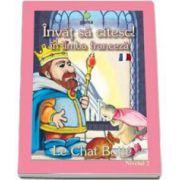 Invat sa citesc! Motanul incaltat in limba franceza (nivelul 2)