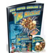 Limba engleza, pentru clasele a III-a si a IV-a. Super English 3 - The Time Machine (Contine CD cu soft educational)