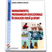 Managementul programelor educationale in educatie fizica si sport