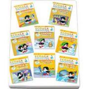 Pachet Scoala celor 7 pitici, 4-5 ani (8 carti)