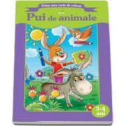 Pui de animale (Prima mea carte de colorat)