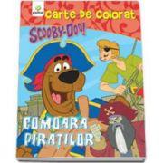 Scooby-Doo. Comoara piratilor (carte de colorat)