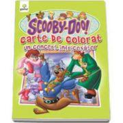 Scooby-Doo. Un concert infricosator (carte de colorat)