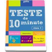 Teste de 10 minute pentru clasa I. Colectia, cultura generala