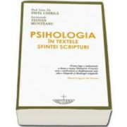 Pavel Chirila, Psihologia in textele Sfintei Scripturi