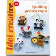 Quilling pentru copii. Idei creative, numarul 90