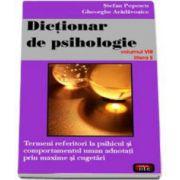 Stefan Popescu, Dictionar de psihologie - volumul 8