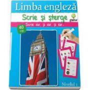 Limba engleza - nivelul 1 (Scrie si sterge!)