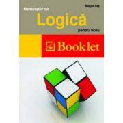 Memorator de Logica pentru liceu (Magda Ilas)