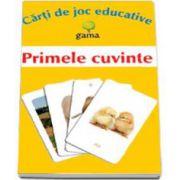 Primele cuvinte (Carti de joc educative)