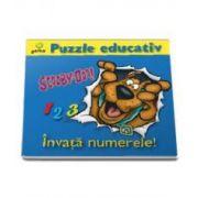 Scooby-Doo - Invata Numerele (Puzzle Educativ)