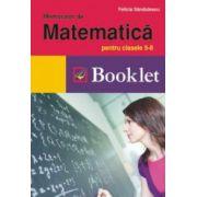 Memorator de matematica pentru clasele 5-8 (Felicia Sandulescu)