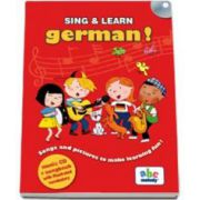 Sing and learn German! - Music CD and songbook with illustrated vocabulary