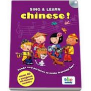 Sing and learn Chinese ! - Music CD and songbook with illustrated vocabulary