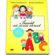 Invat sa scriu corect caiet pentru clasa I (Petru Hurducaciu)