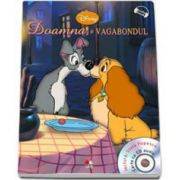 Doamna si vagabondul - Disney Audiobook, carte cu CD