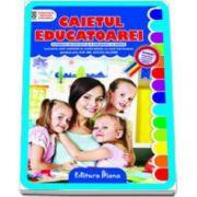 Caietul educatoarei - Evidenta activitatii si a prezentei la grupa (portret)
