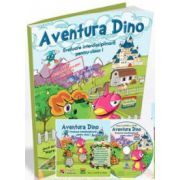 Edu - Aventura Dino. Evaluare interdisciplinara pentru clasa I