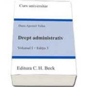 Tofan Dana Apostol, Drept administrativ. Volumul I. Editia a III-a