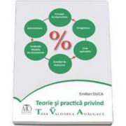 Emilian Duca, Teorie si practica privind TVA - Taxa pe Valoarea Adaugata