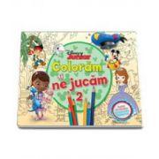 Disney, Coloram si ne jucam (2) - Planse de colorat cu activitati distractive